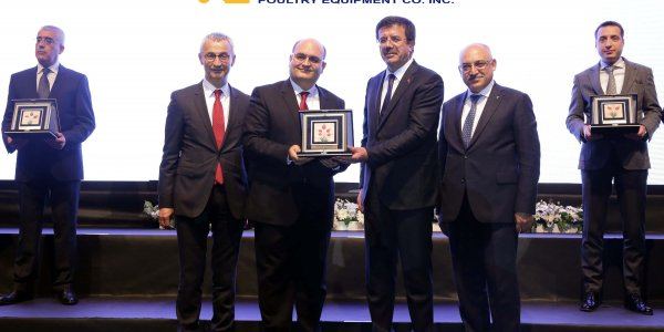 AWARD TO KUTLUSAN FROM ' AEGEAN EXPORTERS ASSOCIATION '(EIB)